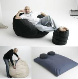 Bean Bag That Turns Into A Double Bed
