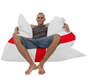 England Flag Beanbags