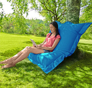 Giant Sized  Beanbags For Use Inside And Outdoors