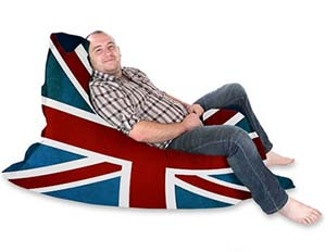 Union Jack Beanbag